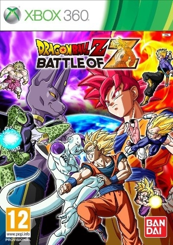 Dragon Ball Z Battle of Z + DLC (Xbox 360)